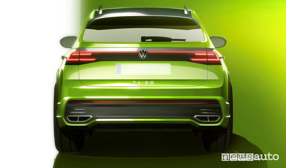 Volkswagen Taigo, anteprima