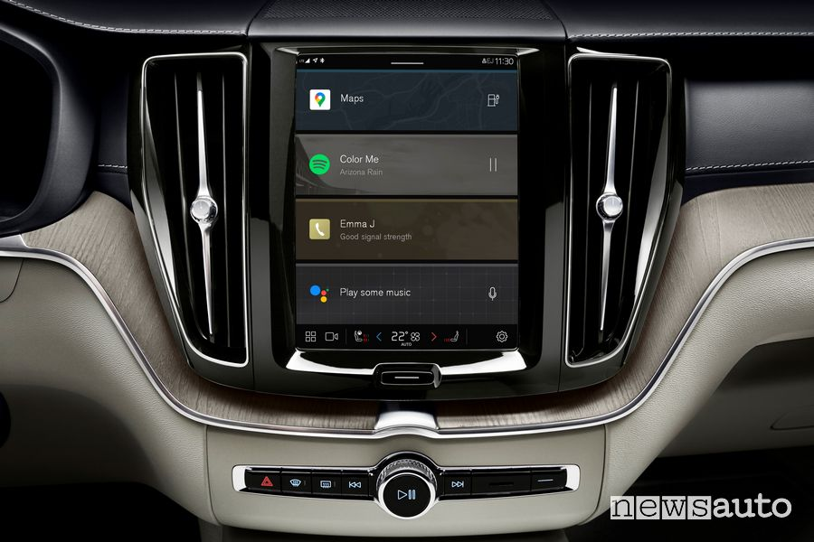 Infotainment Android Google Volvo XC60 2022
