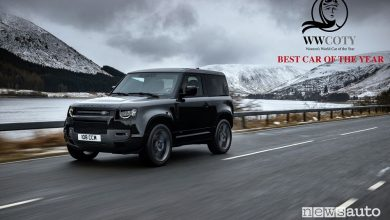 Land Rover Defender è Women's World Car of the Year