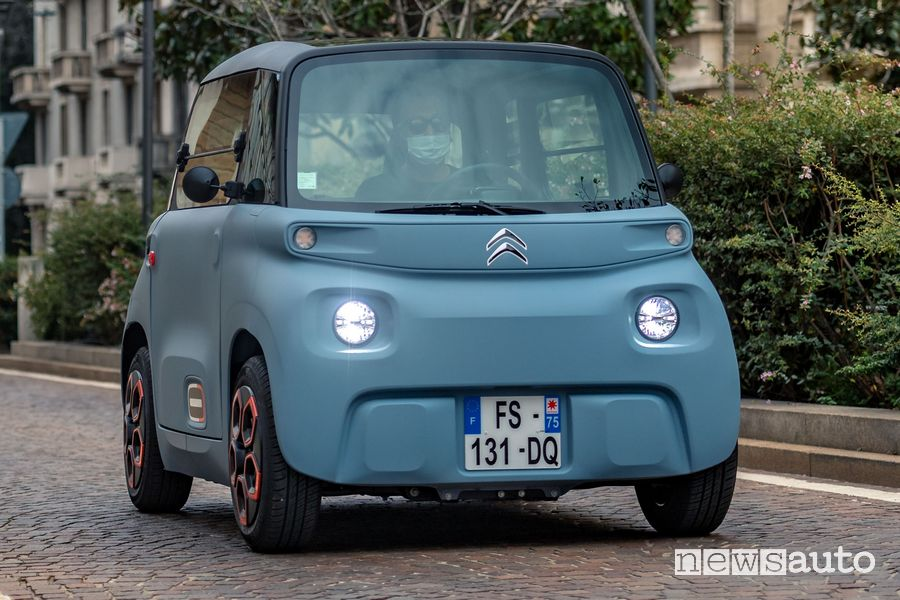 Citroën Ami prezzi macchinetta elettrica versioni
