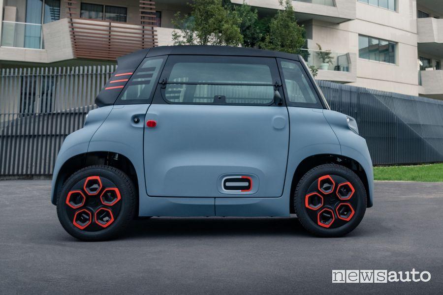 Citroën Ami prezzi macchinetta elettrica