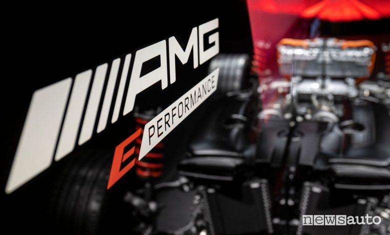 Auto ibride ed elettriche sportive Mercedes-AMG E Performance, caratteristiche