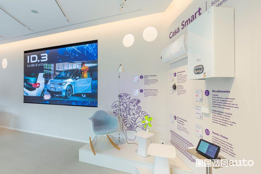 Enel X Store di Corso Francia, servizi per la mobilità elettrica