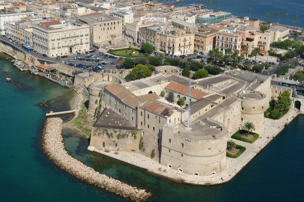 Taranto ed il suo bellissimo Castello Aragonese