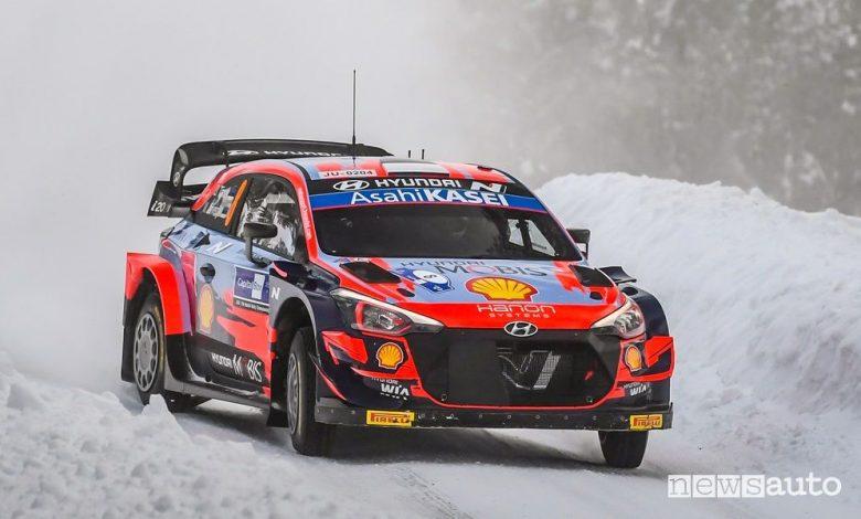 WRC Rally Finlandia 2021, vince la Hyundai con Tanak [classifica]