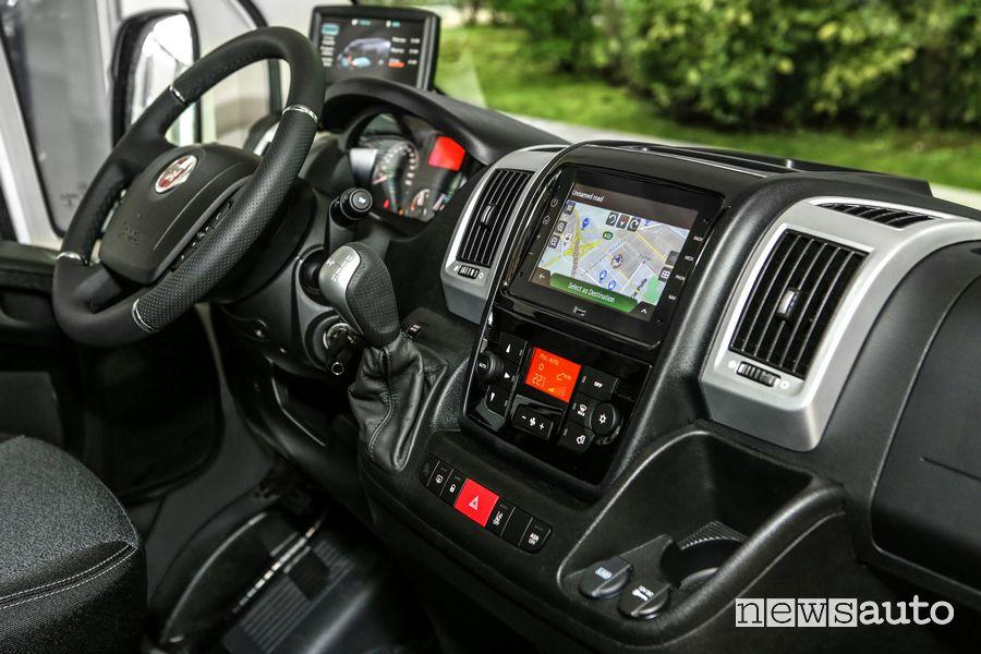 Plancia strumenti abitacolo Fiat e-Ducato elettrico