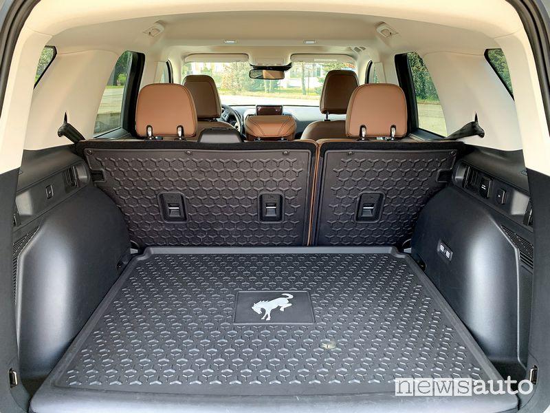 Vano bagagliaio abitacolo Ford Bronco Sport