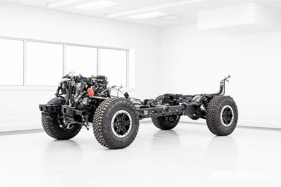 Telaio motore EcoBoost Ford Bronco