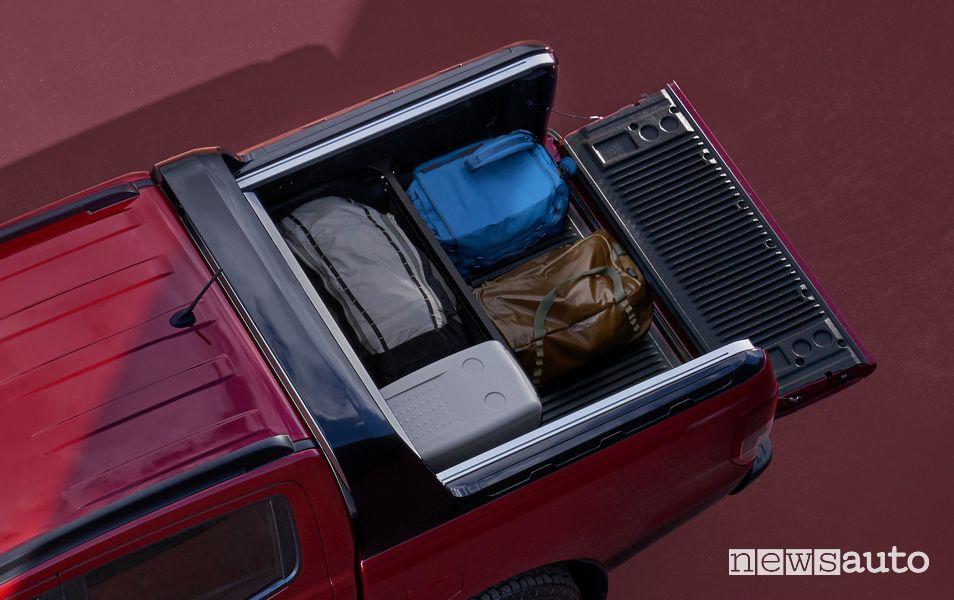 Ford Ranger Stormtrak cassone carico