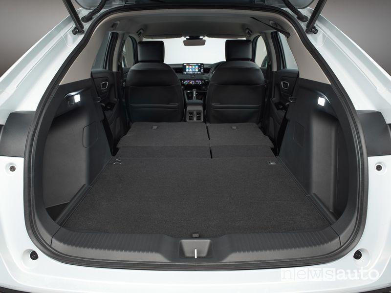Bagagliaio abitacolo nuovo Honda HR-V e:HEV