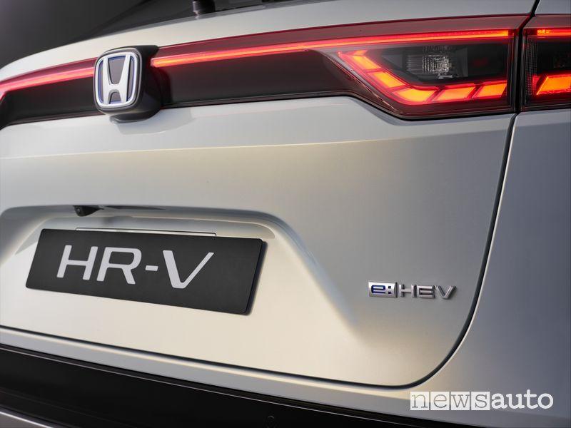 Portellone posteriore nuovo Honda HR-V e:HEV
