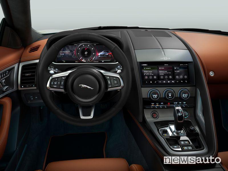 Plancia strumenti abitacolo Jaguar F-Type R Dynamic Black Coupé