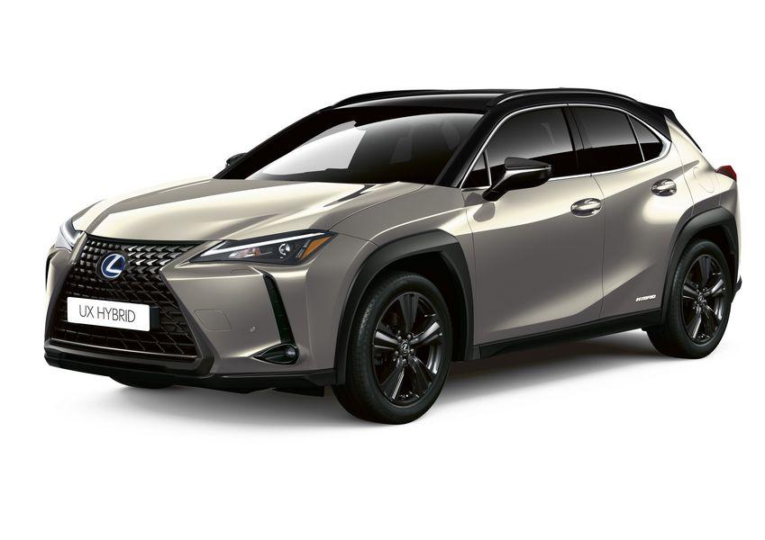 Lexus UX Hybrid Deep SKY Sonic Titanium