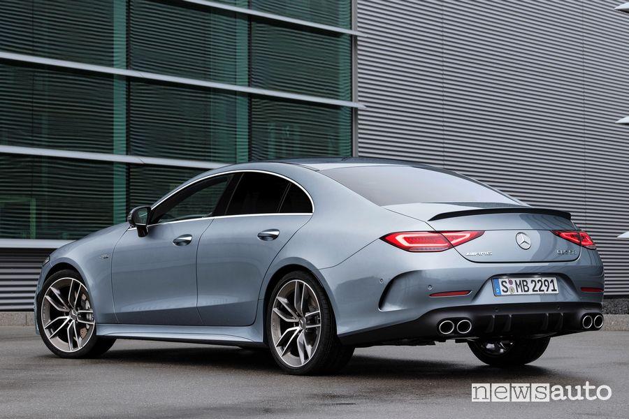 Vista posteriore Mercedes-AMG CLS 53 4MATIC+
