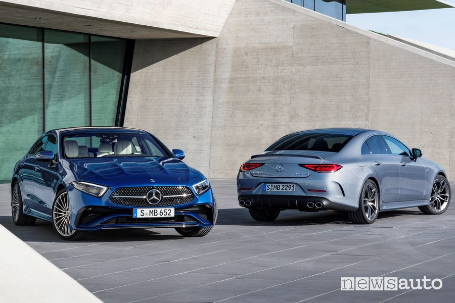 Nuove Mercedes-Benz CLS e AMG CLS 53 4MATIC+