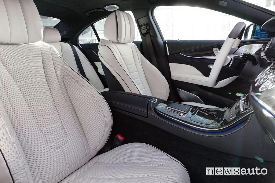 Sedili anteriori abitacolo Mercedes-Benz CLS Coupé