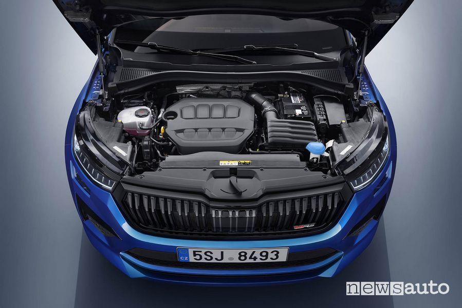 Vano motore nuova Skoda Kodiaq RS
