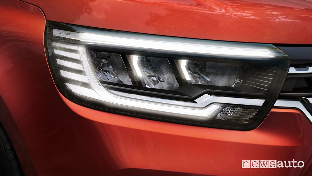 Faro anteriore full led nuovo Renault Kangoo 2021 2022