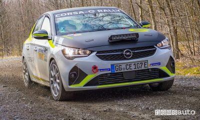 Auto elettriche, che rumore fa in gara le Corsa-e rally