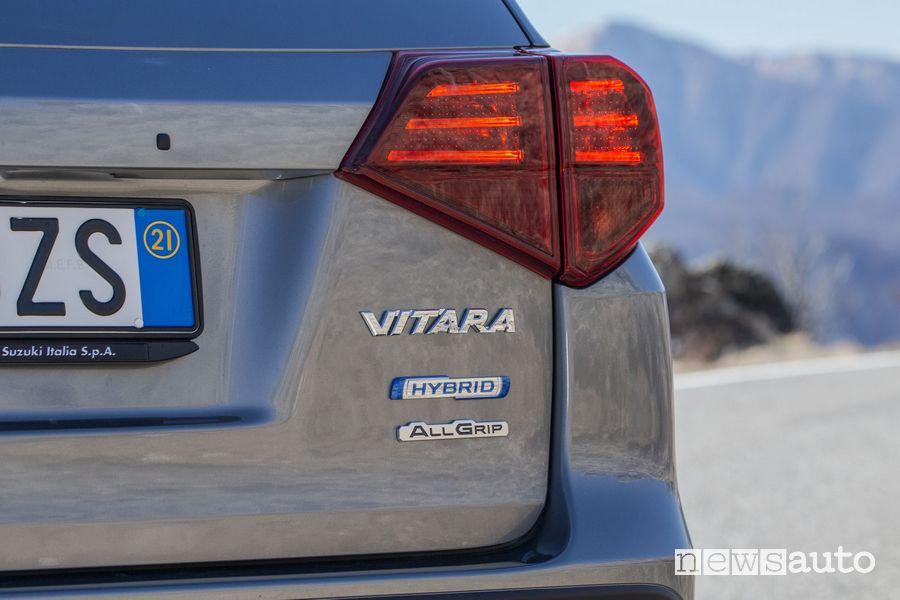 Faro posteriore Suzuki Vitara Hybrid
