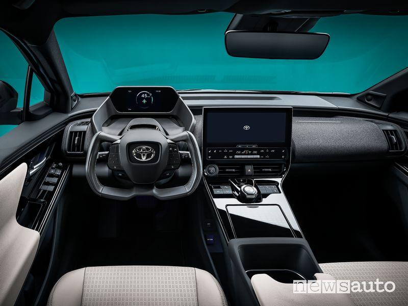 Plancia strumenti abitacolo Toyota bZ4X Concept