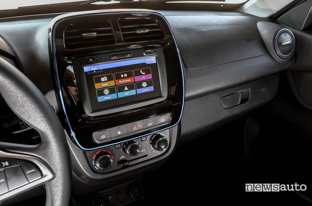 Display Dacia Spring Electric 2021