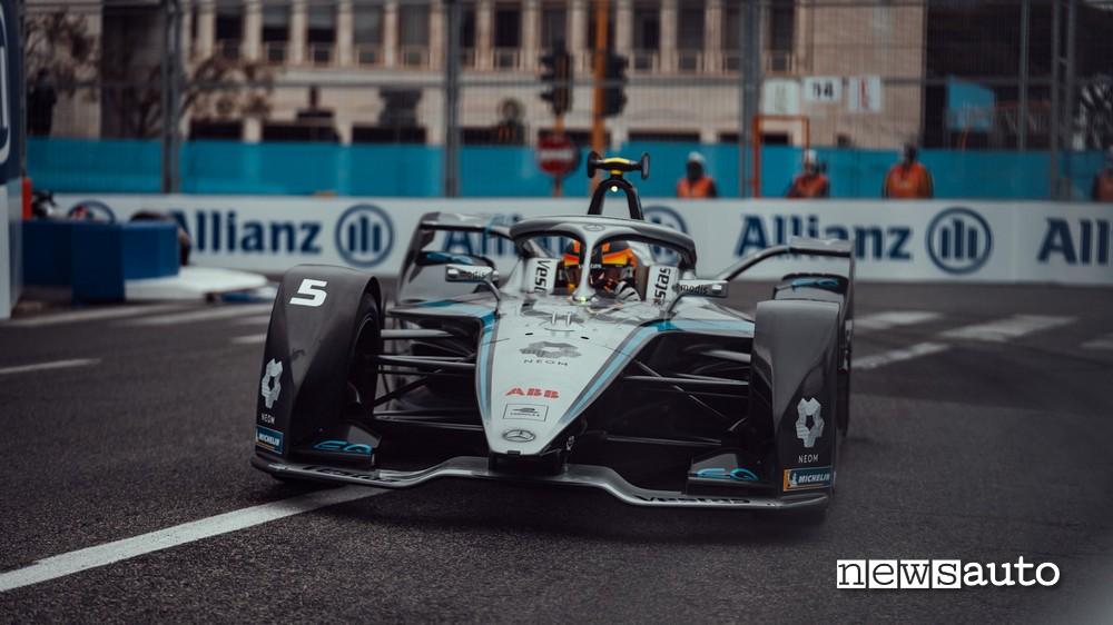 Stoffel Vandoorne durante la Super Pole all'ePrix di Roma