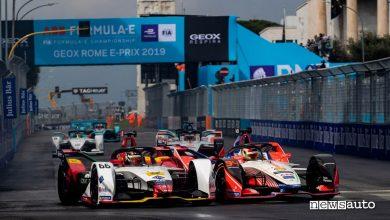 Orari ePrix Roma Formula E 2021