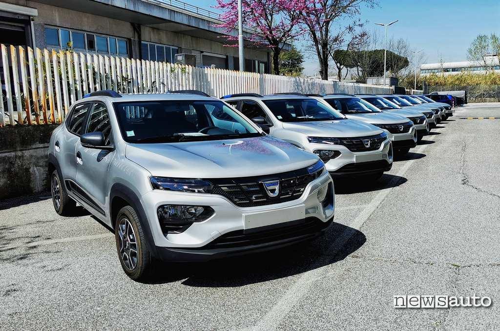 Test su strada Dacia Spring Electric 2021