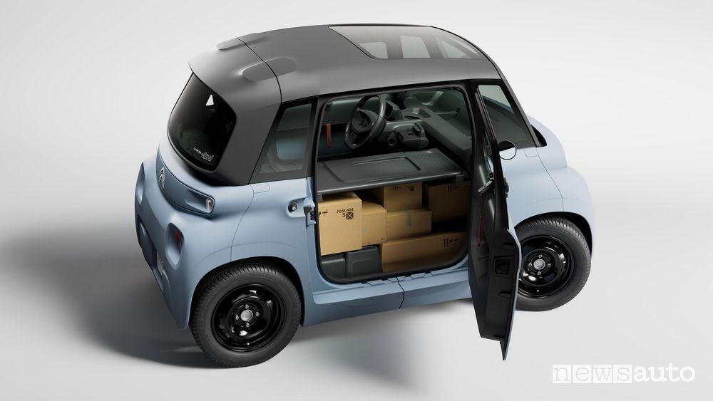 Spazio di carico Citroën My Ami Cargo