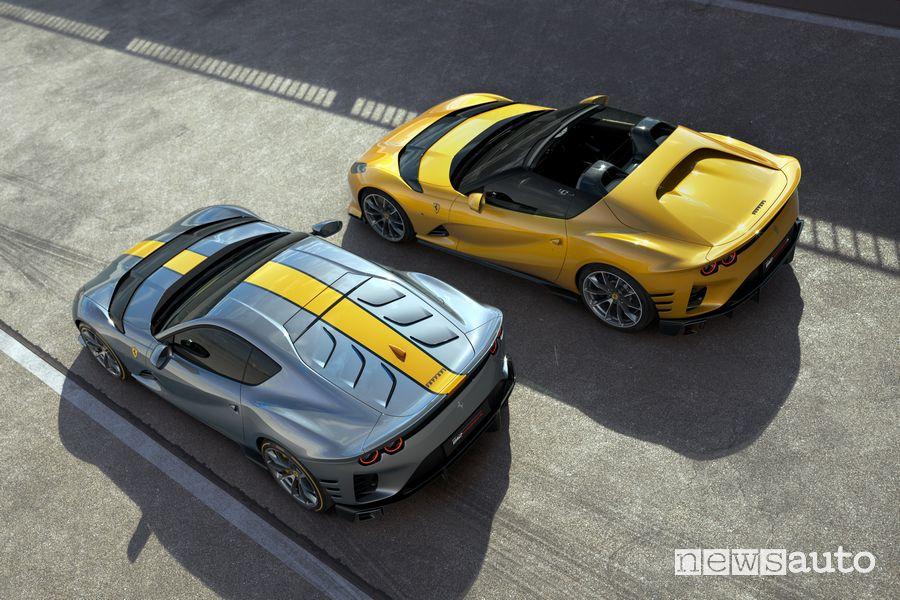 Ferrari 812 Competizione e Ferrari 812 Competizione A
