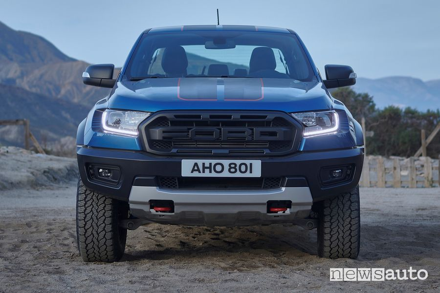 Frontale Ford Ranger Raptor Special Edition