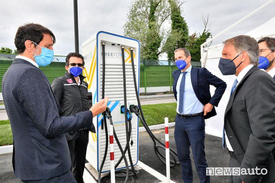 Autostrada per l'Italia e Free To X per la mobilità sostenibile