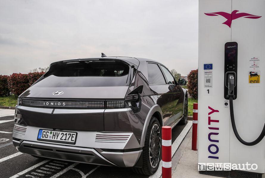 Ricarica rapida HPC Ionity nuova Hyundai Ioniq 5