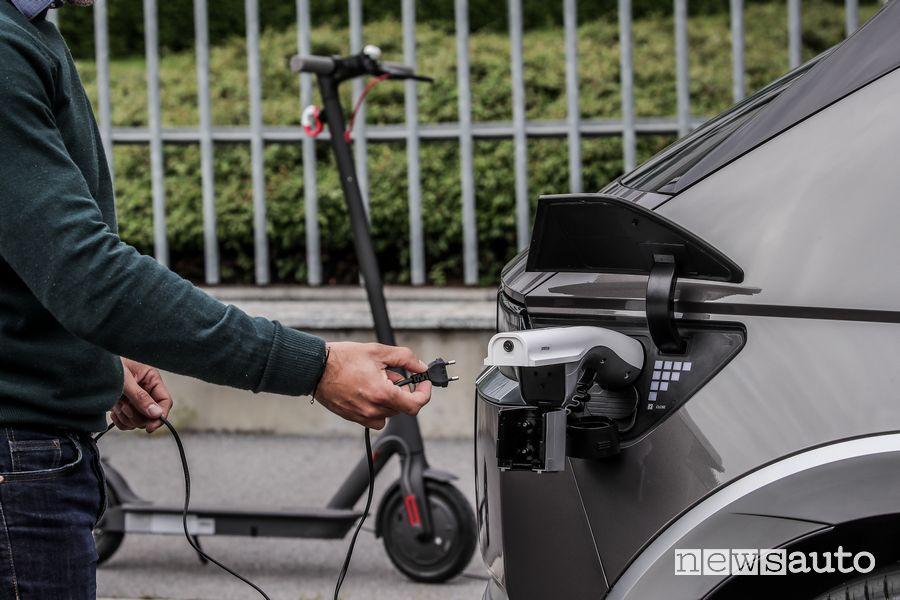 Adattatore per la ricarica di dispositivi elettrici nuova Hyundai Ioniq 5