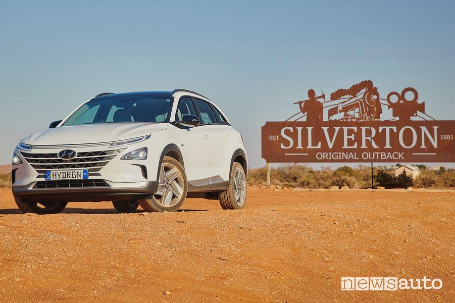 Hyundai Nexo, caratteristiche SUV ad idrogeno