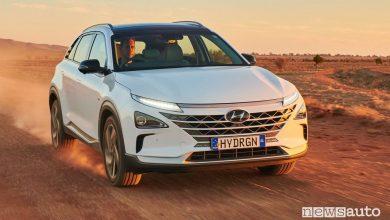 Autonomia auto ad idrogeno, record con il SUV Hyundai Nexo
