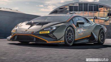 Nuova Lamborghini Huracán Super Trofeo EVO2