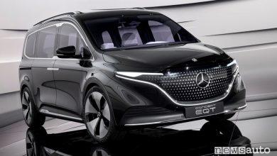 Photo of Monovolume elettrico Mercedes, caratteristiche EQT prototipo Classe T