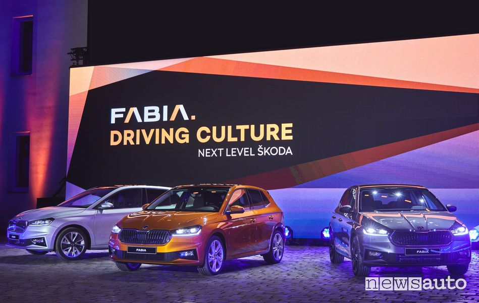 Presentazione nuova Škoda Fabia