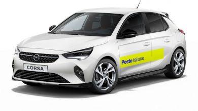 Auto elettrica della Poste, Opel Corsa-e per i postini