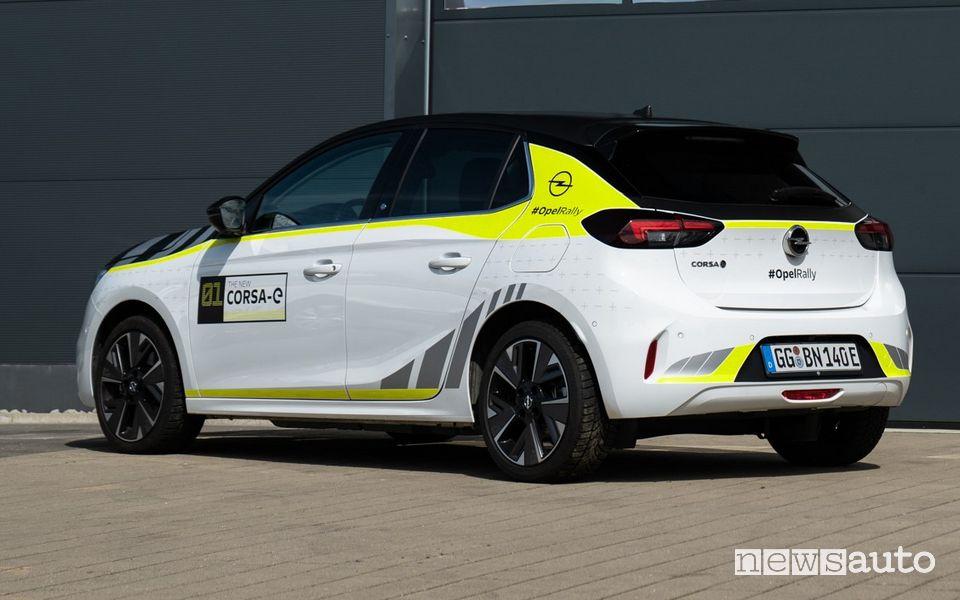Pellicola wrapping Opel Corsa-e, prezzo e installazione