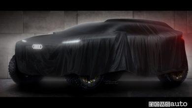 Prototipo elettrico alla Dakar, Audi con range extender al Rally Raid