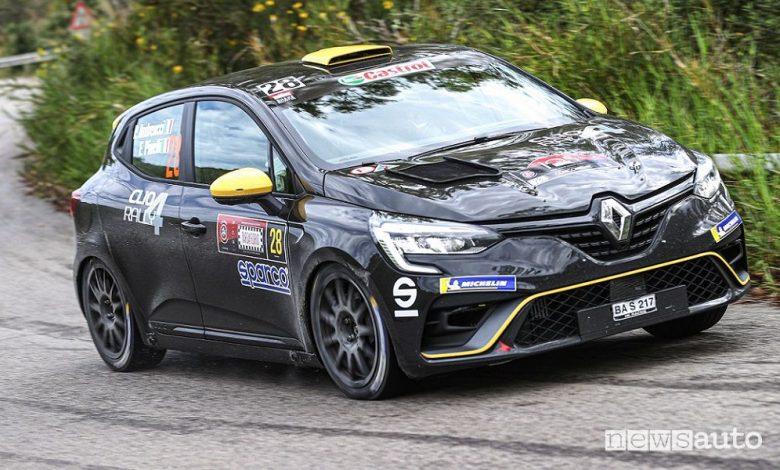 Rally Targa Florio 2021, vittoria Škoda, ritiro per Andreucci con Renault