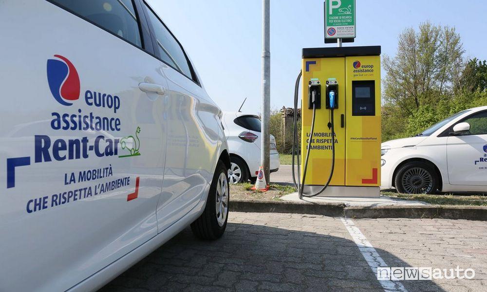 Colonnine ricarica auto elettriche in Calabria a Lamezia Terme