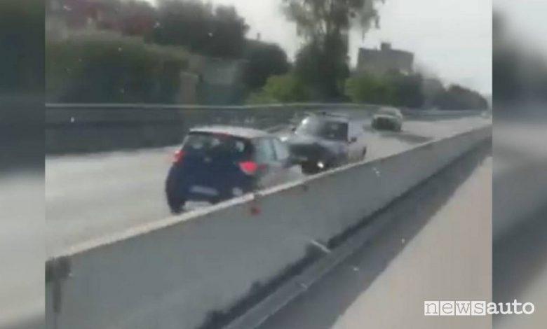 Incidente auto contromano, impatto terribile sulla statale in Puglia