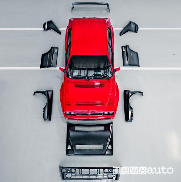 Lamierati originali per la Lancia Delta Integrale