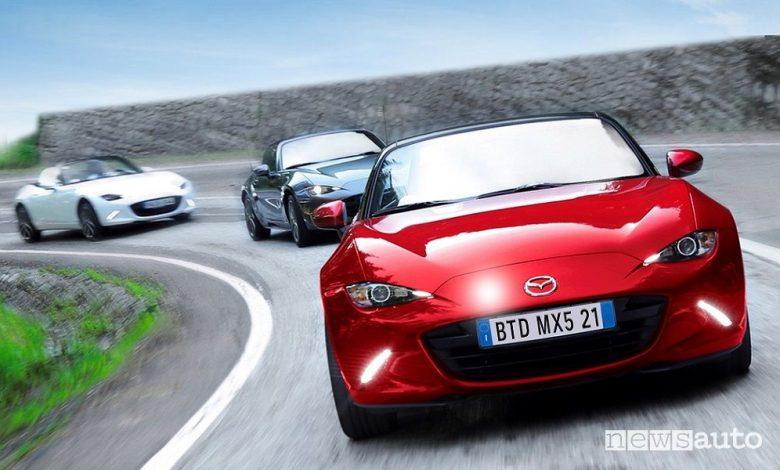 Raduno Mazda MX-5 2021, programma e iscrizioni