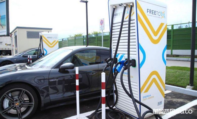 Stazioni di ricarica ultrafast in autostrada, inaugurata la prima da 300 kW