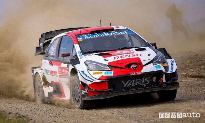 WRC Rally Portogallo 2021, vince la Toyota con Evans [classifica]